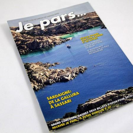 Magazine je pars, graphisme de Graphic Touch