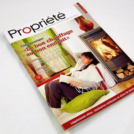 Magazine Propriété, création GraphicTouch