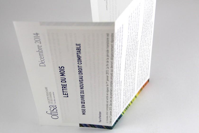 lettre d'information ofisa création graphique graphictouch