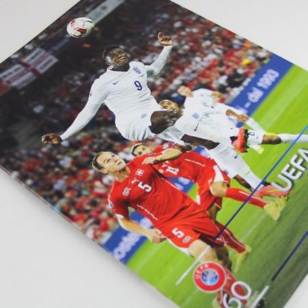 UEFA direct mise en page par graphictouch