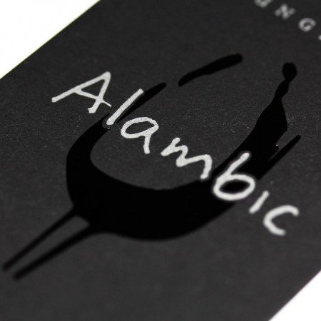 logo alambic louge bar création graphictouch