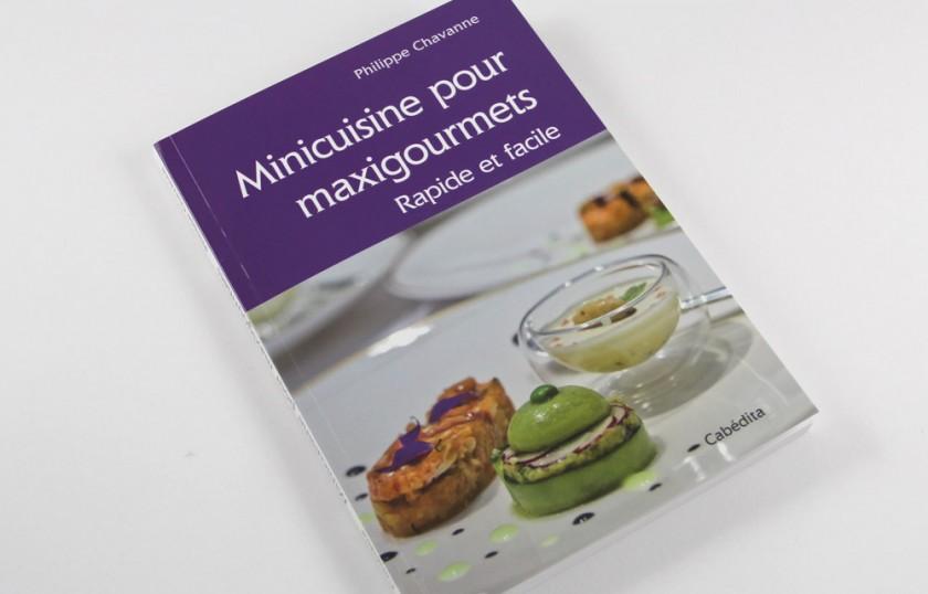 création graphique édition Cabédita livre de cuisine