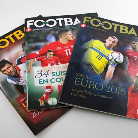 magazine de foot de Suisse romande Graphic Touch