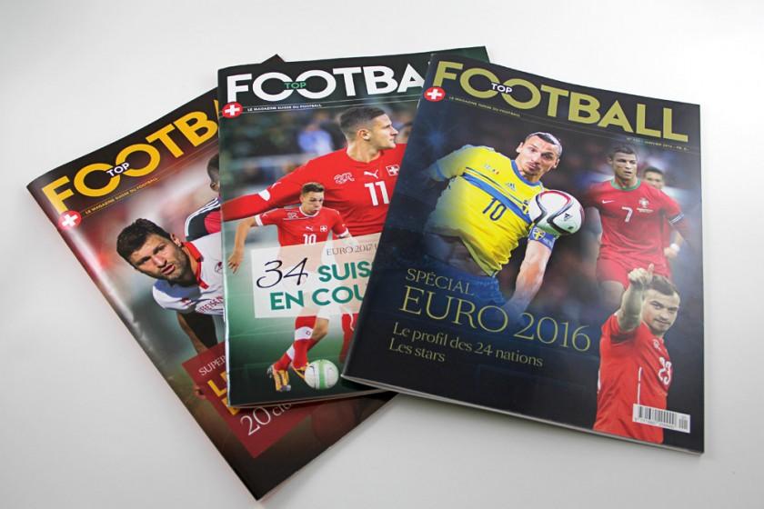 magazine de foot de Suisse romande Graphic Touch