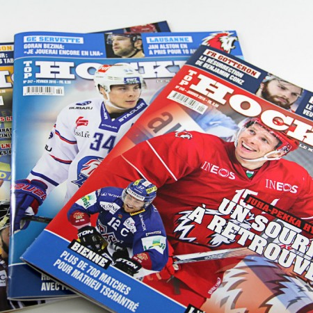 Top hockey Magazin suisse graphictouch