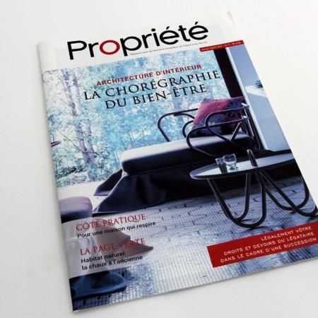 Propriété magazine sur l'actualité l'immobilière